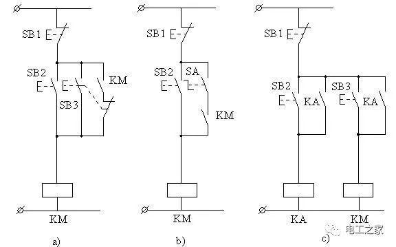 电气控制线路图的绘制及分析_1