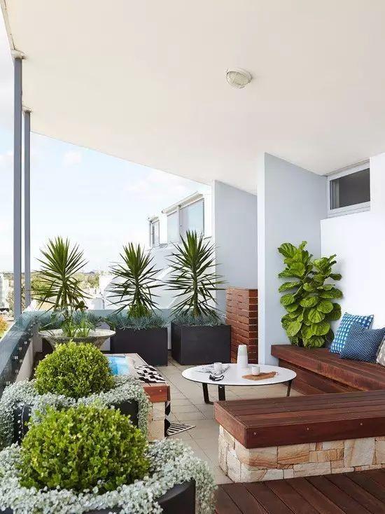 30个开放式阳台花园设计方案_14