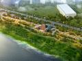 滨海中式园林景观规划设计模型
