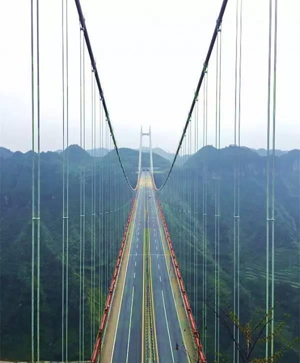 全球50个地标性建筑,认识10个就算你合格!-矮寨大桥(湖南•湘西).jpg