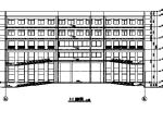 [江苏]某职业技术学院建筑施工图(多动能建筑图纸)