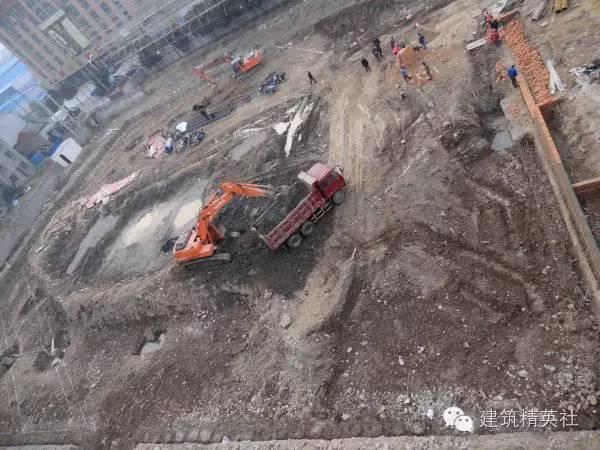 高层建筑地下室基坑施工全过程图片集