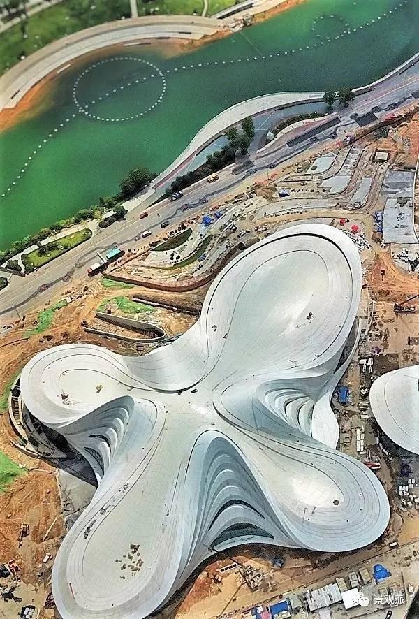 扎哈在中国的遗作终于完成,耗资28亿,施工难度堪比鸟巢_30