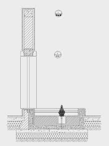 四川成都金色海蓉景观设计施工图-设计详图水景剖面图2
