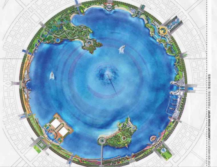 [上海]芦潮新城景观设方案文本(包含PDF+57页)