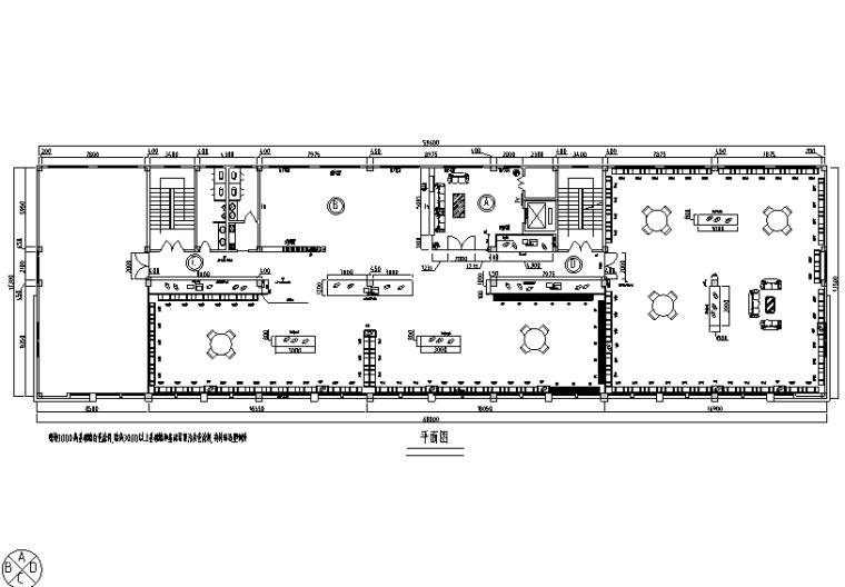 1038平米服装展厅设计施工图(附效果图)