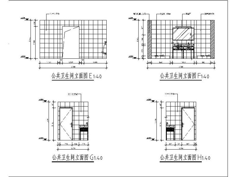 [北京]酒店式公寓室内设计施工图(含效果图)_5