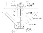 阿联酋170x35刚架结构施工图