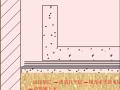 卷材防水层施工外帖法动画演示