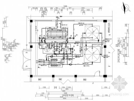 [云南]垃圾卫生填埋场渗滤液处理工程图纸