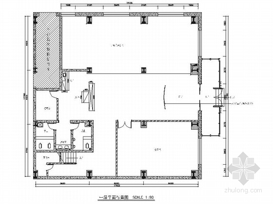 [山东]高端产业聚集区现代办公室室内装修施工图
