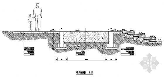 某砂坑剖面详图-4