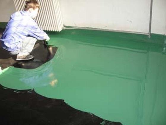 预防环氧树脂地坪漆起泡的方法