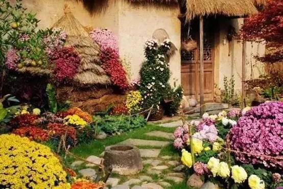 乡村庭院这么美,你有什么理由不喜欢!_19