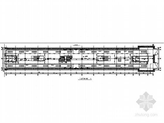 [上海]现代轨道交通线路工程室内站台装修施工图