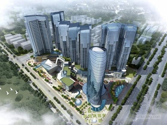 [广西]32层现代风格公寓式住宅楼建筑设计方案文本