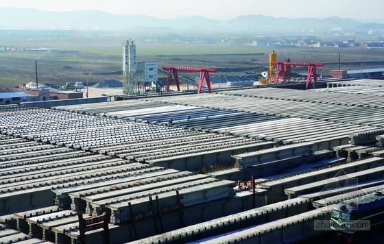 30m预应力混凝土T梁预制场建设施工方案(22页 附CAD设计图)