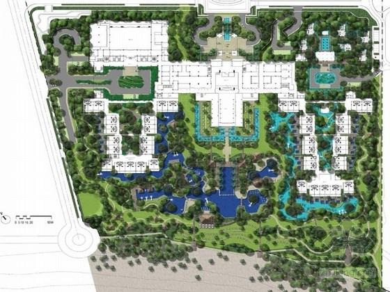 [海南]中堂文化热带海洋风情度假酒店景观设计方案(知名设计)