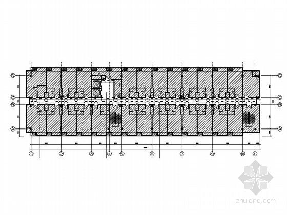 [苏州]工业园区现代商务酒店客房部分室内施工图(含效果图)