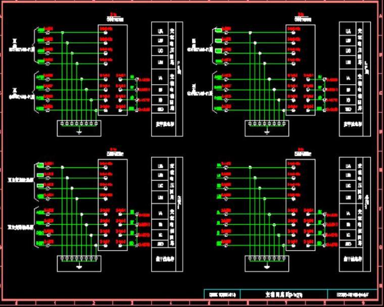 GWK-100BE-213型安全稳定控制装置柜B接线图