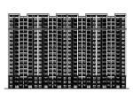 [河北]高层框架剪力墙结构住宅建筑施工图(含车库及结构设计)