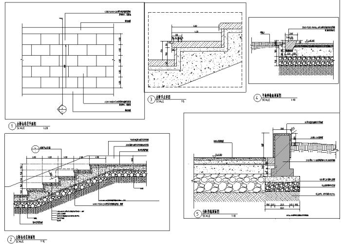 """[河南]""""一渠六河""""生态河道综合治理工程景观设计全套施工图(附140张PDF施工图)"""