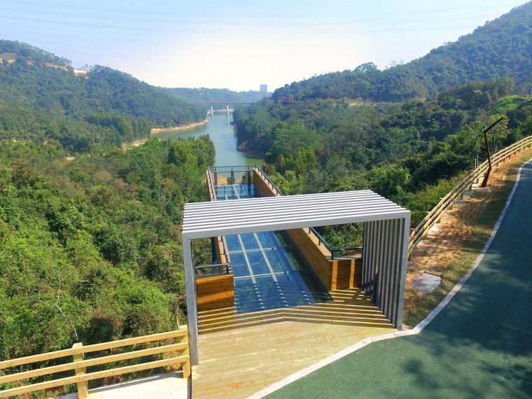 深圳龙华区环城绿道羊台山段景观
