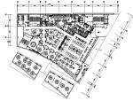 现代风格餐厅设计CAD施工(含效果图)