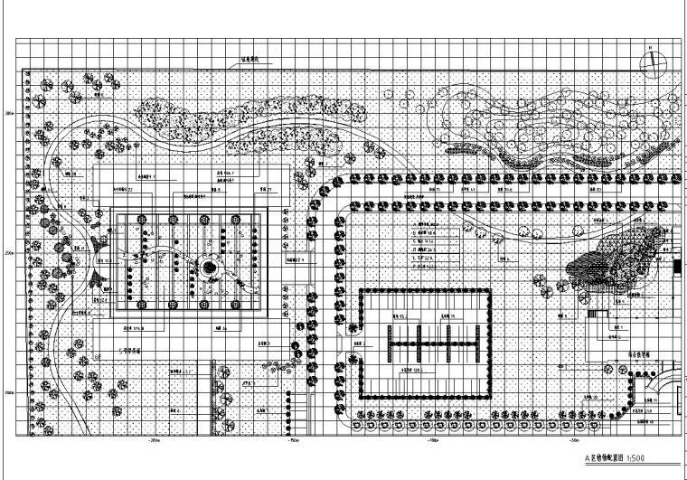 [河北]河北省某党校全套景观设计施工图CAD(31个文件)