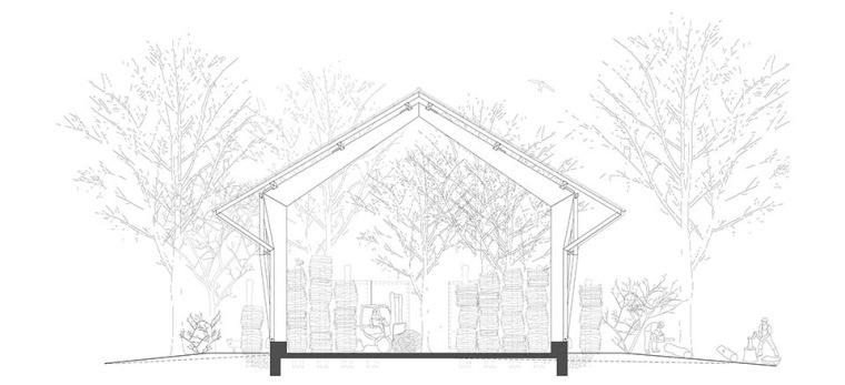 瑞士丛林木结构HolzkorporationDübendorf工厂-7
