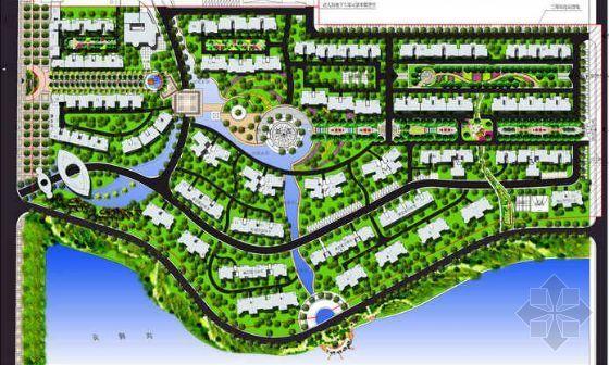 武汉某小区景观设计方案