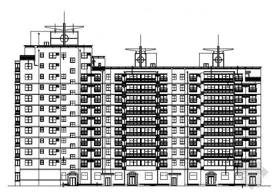 某高层住宅建筑施工图(一)