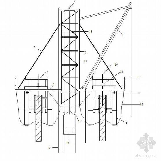 陕西某公司烟囱滑模施工方案(150m)
