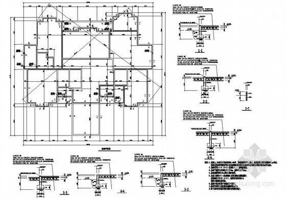 某2层木结构商务楼辅助用房结构设计图
