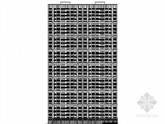 [浙江]33层现代风格公寓式酒店设计施工图(图纸精细 值得参考)