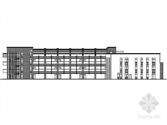 [深圳]某三层幼儿园建筑方案图