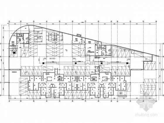 [河北]地下车库人防通风排烟系统设计施工图