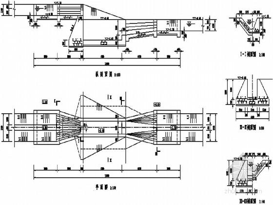 小型农田水利工程典型图设计(跌水)