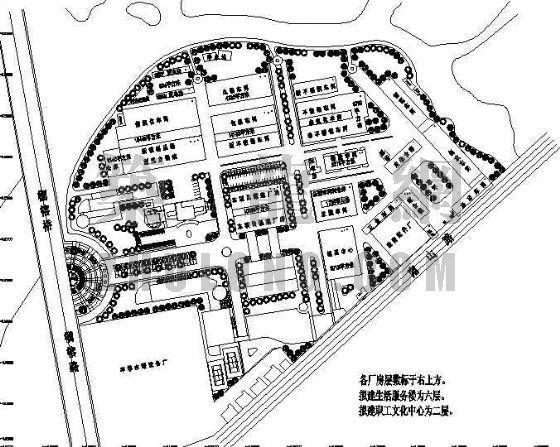 苏泊尔电器厂区景观方案设计