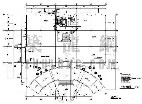 入口车道结构施工图