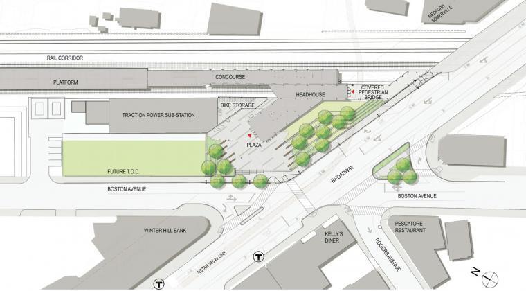 [知名设计公司特辑]走进AECOM的景观规划世界(70套资料在文末)-美国麻州交通局区域的绿色改造-18