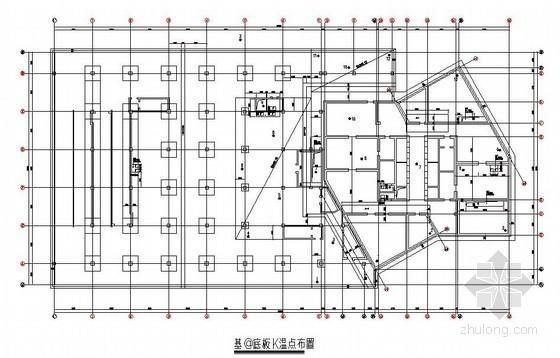 [辽宁]文化广场大体积混凝土施工方案(测温点)