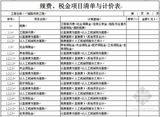 [湖北]2012年市政道路工程招标文件(含工程量清单)