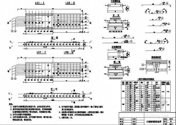 系杆拱桥1米行车道板钢筋构造节点详图设计