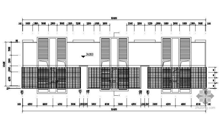 某小区太阳能屋面发电站设计图