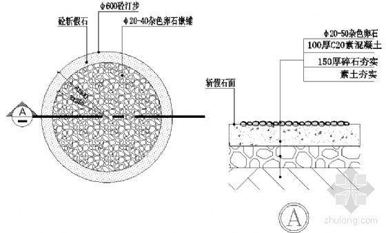 φ600砼汀步详图-4