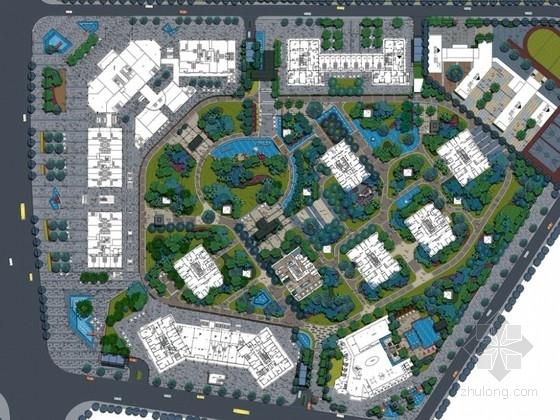 [昆明]商住两用住宅景观初步设计方案(一)