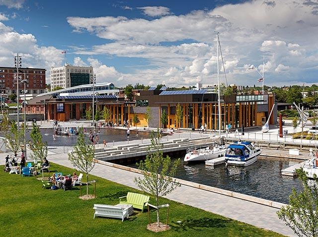 加拿大亚瑟王子码头公园景观设计_9