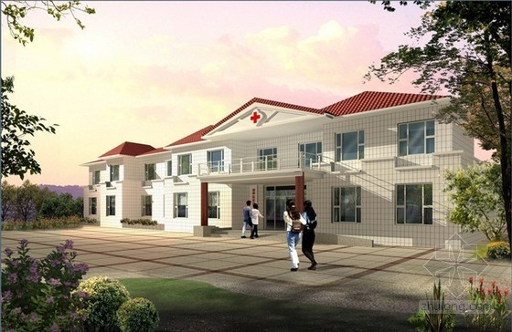 [毕业设计]河南某卫生院综合楼施工图预算及施工组织设计(含工程量计算)共208页