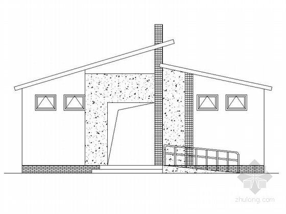 [成都]单层砖混结构公厕建筑施工图